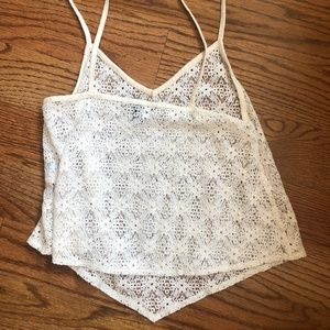 American Eagle Outfitters Tops - American Eagle Floral Lace XS Camisole